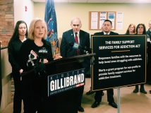 US Senator Kirsten Gillibrand (D-NY) announced new bi-partisan, federal legislation that would help families of addicted persons by providing $25 million in grants for non-profits and community based organizations that provide addiction recovery services.