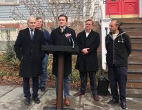 Senator James Skoufis (D-Hudson Valley) and Assemblymember Jonathan Jacobson (D-Newburgh) announced $250,000 grants each, totaling $500,000 in state funding to repave damaged streets in the City of Newburgh.