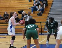 The Mount Saint Mary College Women's Basketball team cruised to a 79-47 conference victory over Farmingdale State at the Kaplan Center on Saturday afternoon.
