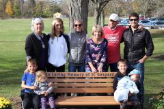 The Newburgh Free Academy girls Varsity Tennis Club donated a bench to honor former NFA Girls Varsity Tennis Coach, JC Gaspard. Coach Gaspard was a lifelong resident of Newburgh, NY.