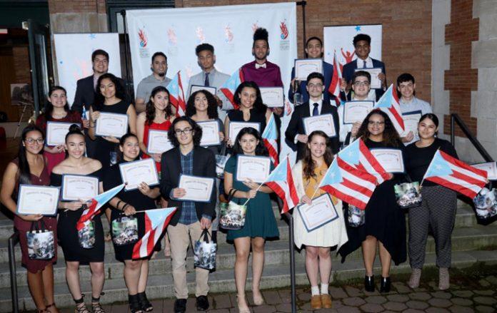 Recent NPRDP Scholarship Recipients. Photo: Vincent Villafañe