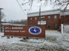 The City of Newburgh Water Filtration Plant on Little Britain Road.