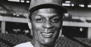 Professional baseball player Curt Flood. Photo: St. Louis Cardinals / Wikimedia Commons