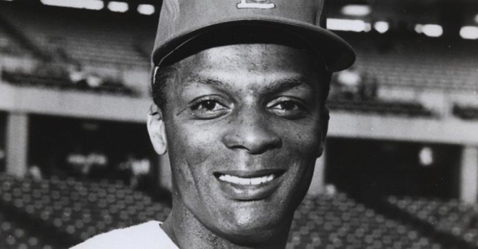 Professional baseball player Curt Flood. Photo: St. Louis Cardinals / Wikimedia Commons