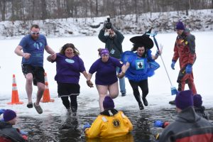 On Saturday, Feb. 8, the Alzheimer's Association Hudson Valley Chapter will hold its 10th annual Subzero Heroes ice jump at Berean Lake. The event will feature a costume contest, and participants will have access to a variety of refreshments.