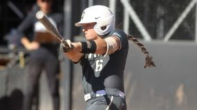 The Army West Point softball team used two runs in the top of the seventh inning to defeat Georgia Southern, which entered the contest with a record of 3-0, by a score of 7-5.