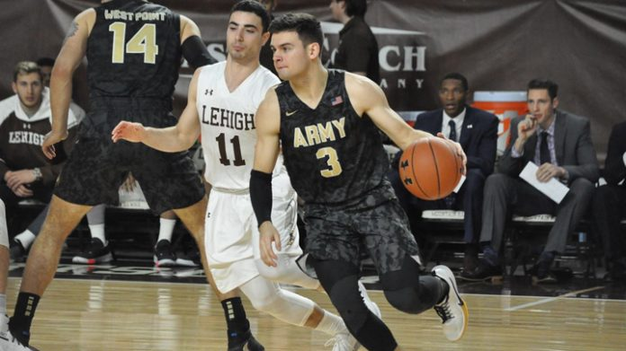With a combined 54 points from seniors Tommy Funk and Matt Wilson, the Army West Point men's basketball team was able to edge Lehigh, 80-79, in a road Patriot League tilt on Saturday night.