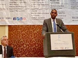"""Small businesses like the ones my family and I interact with daily across Dutchess County fuel our upstate economy,"" Congressman Antonio Delgado (D, NY-19) told members of the Dutchess County Regional Chamber of Commerce on Wednesday."