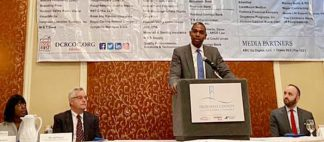 """""""Small businesses like the ones my family and I interact with daily across Dutchess County fuel our upstate economy,"""" Congressman Antonio Delgado (D, NY-19) told members of the Dutchess County Regional Chamber of Commerce on Wednesday."""