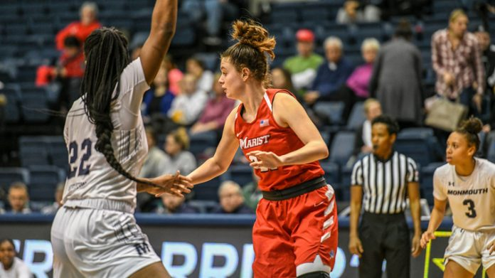 Four Red Foxes reached double figures, and Marist Women's Basketball utilized a 16-0 run over the span of eight-plus minutes in the second half to take a 74-53 victory on Saturday afternoon at OceanFirst Bank Center.