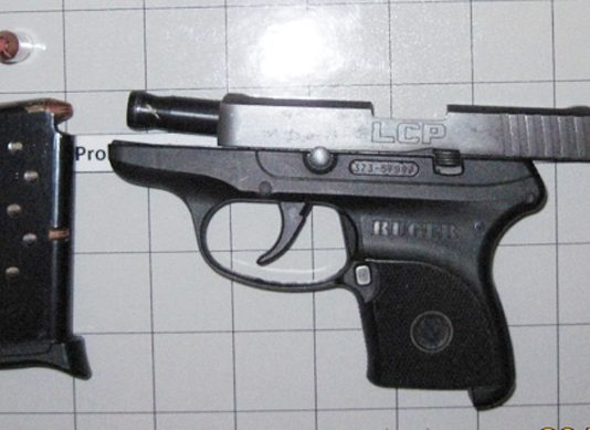 A Dutchess County, New York, woman was caught with this loaded handgun in her carry-on bag at the New York Stewart International Airport checkpoint on Feb. 21, 2020.