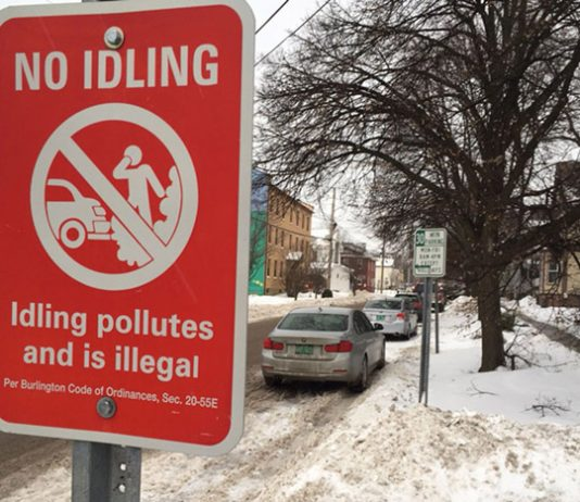Americans waste some six billion gallons of fuel annually as a result of idling their car and truck engines. What can we do to stop this scourge? Photo: Seven Days Vermont