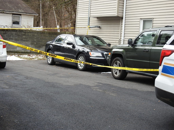 Town Police in Newburgh have charged Kaliek Goode-Ford, 30, of Newburgh in connection with the triple murder on Sunday, January 26 at a residence at 1751 Route 300.