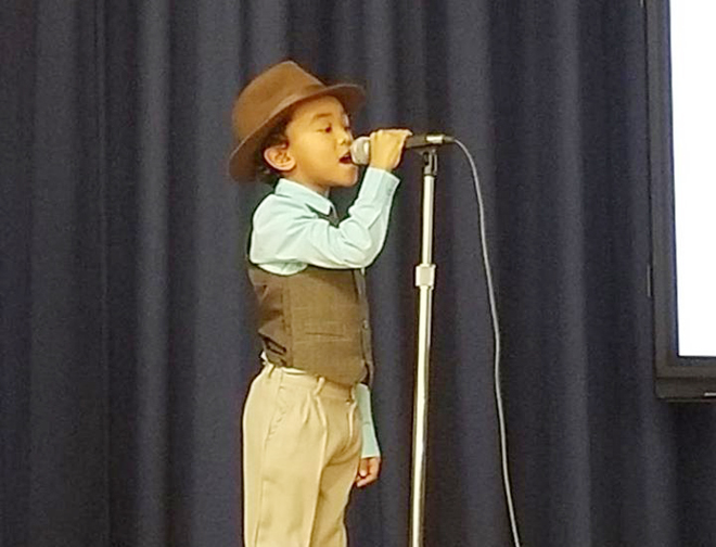 Fostetown School hosted their Second annual Black History Month Talent Show. The wonderful show was organized by Ms. Gray and Ms. Coleman.