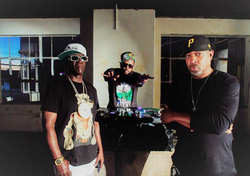 """Public Enemy are back with a new song and video, """"State of the Union (STFU),"""" a fiery return to the frontlines as they take on Donald Trump and his fascist regime. Photo: JEitan Miskevich"""