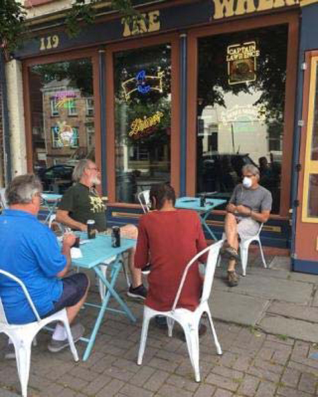 The City of Newburgh invites everyone to shop, dine, and relax on Liberty Street this summer! Outdoor seating is currently being offered at locations throughout the Liberty Street corridor from Rob's Roast Coffee to the Wherehouse.