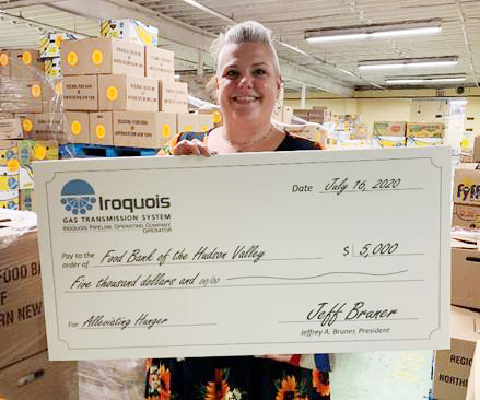 Julie Huberty, Special Events Coordinator of Food Bank of the Hudson Valley.