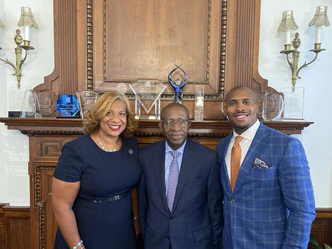Mayor Shawyn Patterson-Howard appointed Lyndon Williams for City Court Judge following the elevation of Judge Adrian Armstrong to the New York State Court of Claims. Williams will serve the remainder of Judge Armstrong's term and run for election in November.