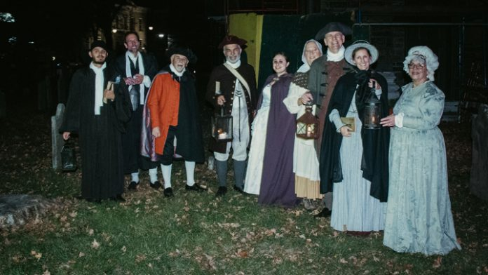 "Theatre on the Road and the Old Dutch Church in Kingston will offer ""living history"" tours Saturdays in October in the cemetery of the church."