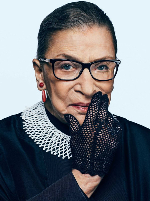 Justice Ginsburg's 27-year tenure on the Supreme Court was marked by a passion for the promises of our nation's constitution and the rule of the law. Her long, remarkable record includes her legendary opinions and powerful dissents that bent the arc of the moral universe towards justice.