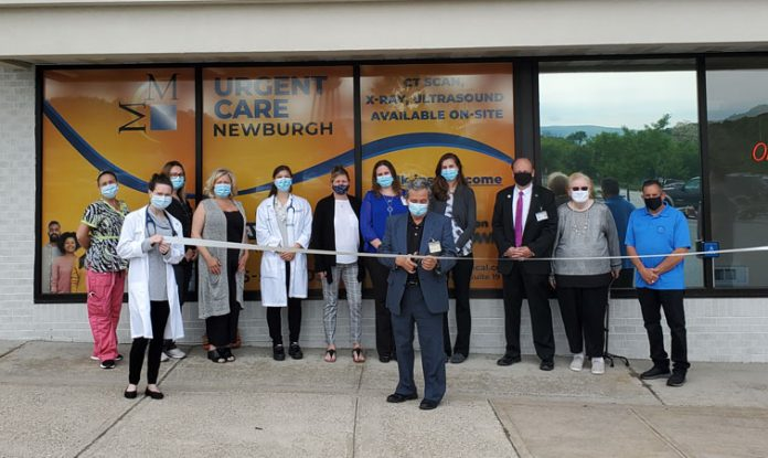 Middletown Medical's Urgent Care at the Mid Valley Mall in Newburgh is now open for business for the general public.