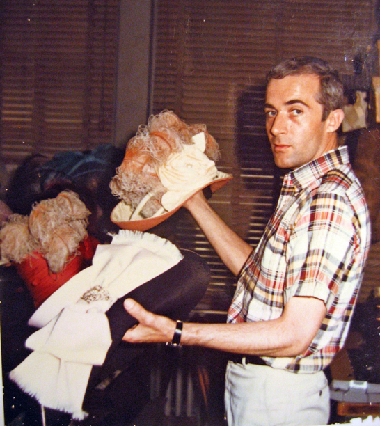 Gary Brouwer: His hats crowned the heads of divas, screen stars, and elephants.