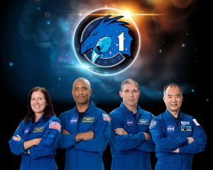 The SpaceX Crew-1 official crew portrait with (from left) NASA astronauts Shannon Walker, Victor Glover, Mike Hopkins, and JAXA (Japan Aerospace Exploration Agency) astronaut Soichi Noguchi. Photo: NASA