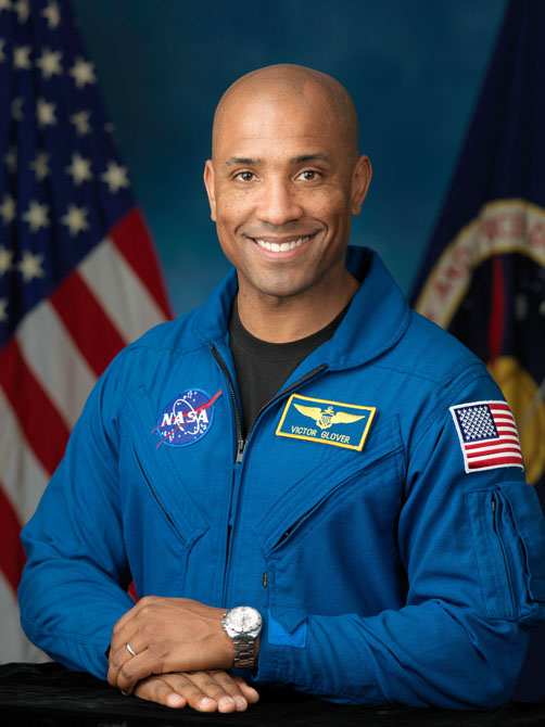 Victor Glover. Photo: NASA