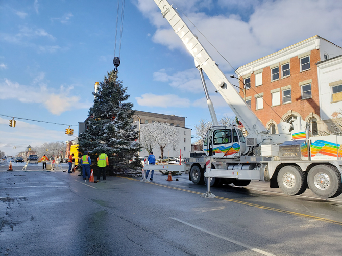 With the holiday season quickly approaching, the City of Newburgh announces its annual search for a Christmas tree to display on Lower Broadway.