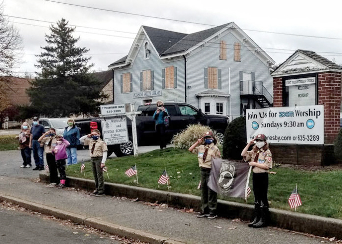 The pandemic gripping the country altered the way Dutchess County paid tribute to veterans this year.