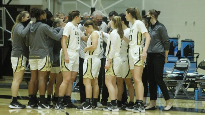 Kate Murray put home a free throw with 2.6 seconds remaining to push Army women's basketball past Quinnipiac, Saturday afternoon at the People's United Center.