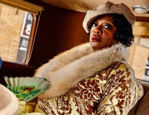 Viola Davis plays Ma in the movie Ma Rainey's Black Bottom.