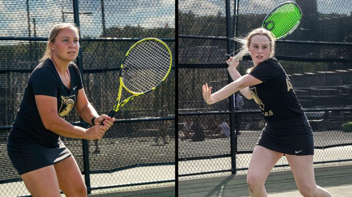 The Army West Point women's tennis team kicked off the 2021 season against Boston College on Friday afternoon. The Black Knights picked up their first loss of the year in a tough 7-0 matchup against a very good Eagles roster.