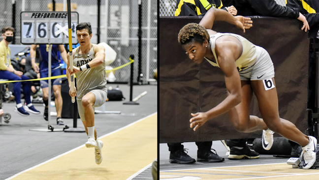 The Army West Point men's and women's track and field teams had 20 event wins in its meet against Boston College on Saturday at Gillis Field House.