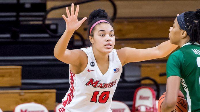 Marist freshman forward Caitlin Weimar corralled a career-high 17 rebounds.