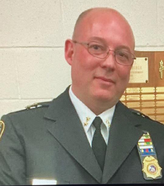 Newburgh Police Chief Arnold Amthor