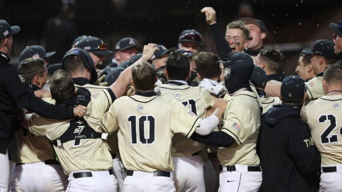 The Army West Point baseball team took both ends of the doubleheader vs. Holy Cross on Saturday afternoon at Doubleday Field on the West Point campus.