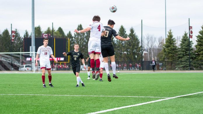 The Army West Point men's soccer team dropped an overtime heartbreaker to Colgate, 1-0, on Saturday afternoon at Beyer-Small '76 Field.