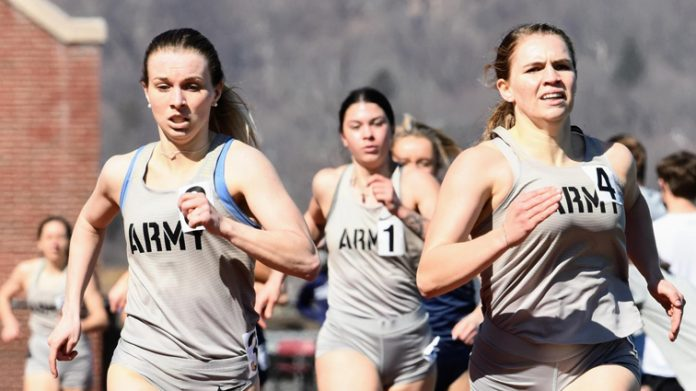 The Army West Point women's track and field team registered 184 points at the UConn Spring Invite on Saturday, which was good for a second-place finish.