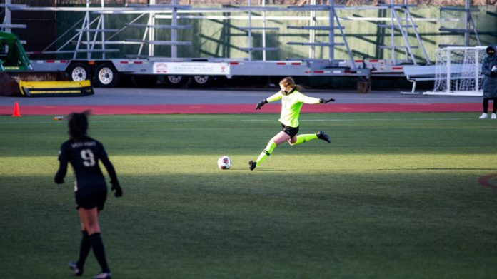 The Army West Point women's soccer team defeated host Boston University.