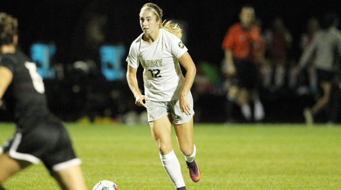 Army West Point women's soccer defeated American University on the road on Saturday afternoon. Erynn Johns led the way on the day, finishing with two goals and one assist.