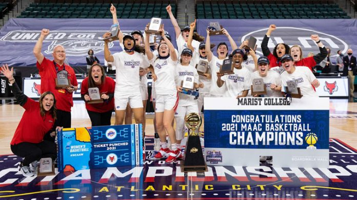The Marist women's basketball team won its 11th Metro Atlantic Athletic Conference championship in program history on Saturday.