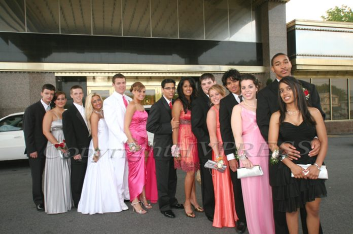 The wedding catering venue, Anthony's Pier 9 in New Windsor has hosted many events throughout the years including prom for Newburgh Free Academy as pictured above.