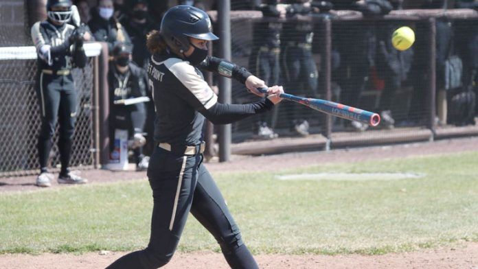 The Army West Point softball team split its Saturday doubleheader with Lehigh at Leadership Park.