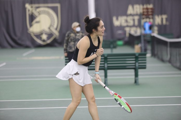 After a hard fought match at Boston last weekend, the Army West Point women's tennis team bounced back with a 7-0 win over Lehigh on Saturday.