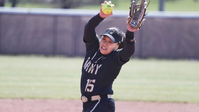 The Army West Point softball team split its doubleheader with Fordham Saturday afternoon.