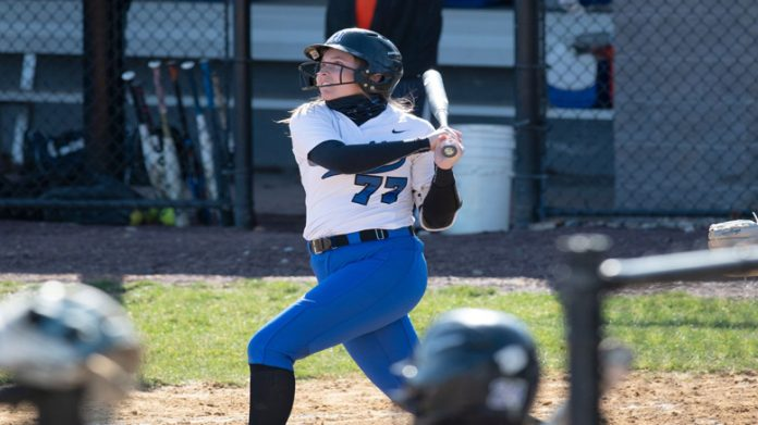 Samantha Bendig finished game two 3-for-3 with two runs and an RBI.