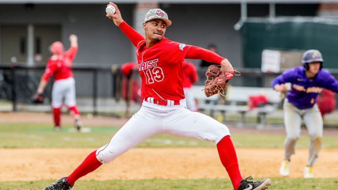 Erubiel Candelario held the Hawks to just one run while striking out seven in six innings pitched in game one.