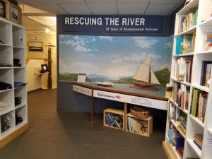 On view at the museum is Rescuing the River: 50 Years of Environmental Activismwhich highlights howlocal environmental organizations continue to influence local, state, and national legislation and action.