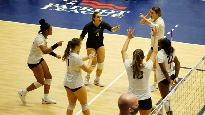 Army West Point (9-4, 3-1) volleyball defeated the United States Naval Academy (5-7,1-2) 3-1, to pick up the program's 50th win over Navy on Saturday.